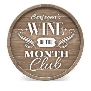 Carfagna's wine of the month logo
